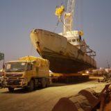 Lifting From Sea and Shifting of Naval Ship – PORT, Chennai